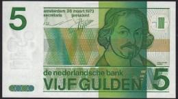 "Pays Bas-Netherlands  5 Gulden "" Vondel II "" 28-3-1973  -NR:5106089313 - [2] 1815-… : Reino De Países Bajos"
