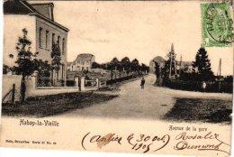 LUXEMBOURG    2 CP Habay La Neuve Grand Place Nels 31n°16   Habay La Vieille Avenue De La Gare 1905Nels 31n°44 - Habay