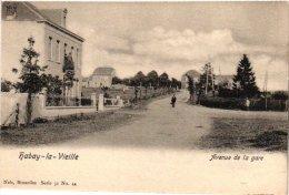 LUXEMBOURG    2 CP Habay La Neuve    Chatelet   Habay La Vieille  Avenue De La Gare Nels31 N°44 - Habay