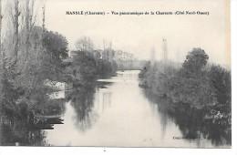 MANSLE - Vue Panoramique De La Charente (côté Nord Ouest) - Mansle