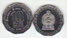 Asia  SRI LANKA 10rup. 2009 - Sri Lanka