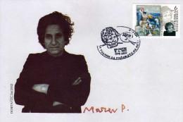 Macedonia 2002 FDC 75th Ann Of Birth Artist Petar Masev Mi No 250 Postmark Skopje 15.04.2002 - Macedonia