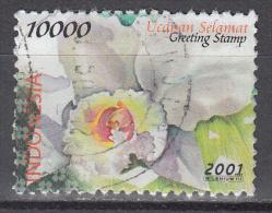 Indonesia     Scott No.  1945    Used    Year   2001 - Indonesia