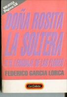 """""""DOÑA ROSITA LA SOLTERA"""" DE FEDERICO GARCIA LORCA- AÑO APROX. 1997- EDIT.PAGINA 12-PAG.94-NUEVO- GECKO. - Cultural"""
