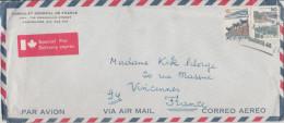 CANADA - 1974 - ENVELOPPE - Cover - Par Avion - Correo Aereo - Air Mail - Special Par Delivery Exprès - Consulat Géné... - Cartas