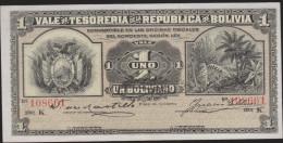 1902 BOLIVIA1 PESO 1902 AU-UNC VERY NICE - Bolivie