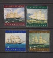 Australia 1998 Sailing Ship Marine Heritage Set 4 MNH - 1990-99 Elizabeth II