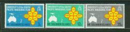 Solomon Islands    University Of The South Pacific   Set    SC# 195-97  MNH** - Solomon Islands (1978-...)