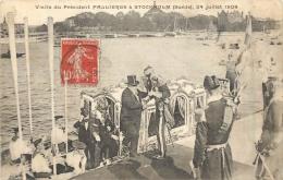 VISITE DU PRESIDENT FALLIERES A STOCKHOLM JUILLET 1908 - Personnages