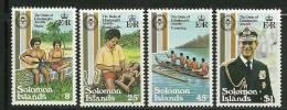 """Solomon Islands      """" Duke Of Endinburgh´s Awards""""    Set    SC# 453-56 MNH** - Solomon Islands (1978-...)"""