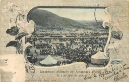 MANIOBRAS MILITARES EN AMANCAES 1903