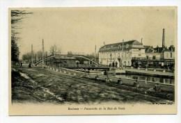 CPA   51 :  REIMS   Pont De La Rue De Vesle     A   VOIR  !!!! - Reims