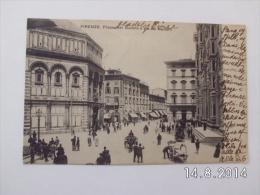 Firenze. - Piazza Del Duomo E Via Dei Martelli. (1 - 6 - 1906) - Firenze