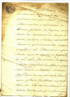HERMETON - DINANT - 1811 - TESTAMENT  - 4 PAGES - NOTAIRE CLOSE - Manuscrits