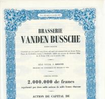 BRASSERIE - Action Brasserie Vanden Bussche à ARDOYE 1948  --  22/815 - Industrie