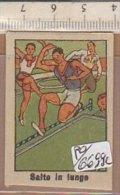 PO6699C# FIGURINE ANTEGUERRA CARTONATE SPORT Anni '30 - SALTO IN LUNGO - Atletica