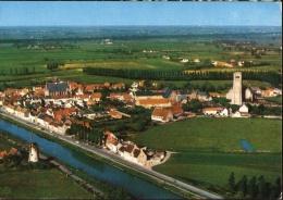 Damme - Panorama - Luchtopname, Molen - Damme