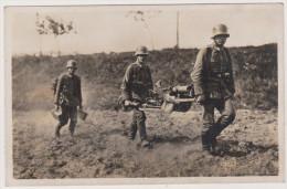 Deutsche Reichswehr-Soldaten, S.M.G., Stellungswechsel, Hofphoto. O. Telgmann, Reichswehr - Unclassified