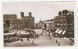 Caernarvonshire            Caernarvon         Castle Square - Caernarvonshire
