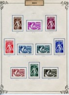 COLLECTION MONACO + 520 TIMBRES DIFF. NEUFS* 1938/1967 + PA/BLOCS/PREOS TTB - COTE TRES IMPORTANTE