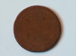 BELGIQUE 2 CENT 1833 - 1831-1865: Leopold I