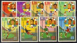 FRZ13 - GUINEA EQUATORIALE , La Serie Per I Mondiali Di Monaco 74  *** - Coppa Del Mondo