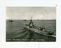 "TARANTO,Mar Grande,Torpediniere ""SIRIO"" Con Squadriglia-1956 - Taranto"