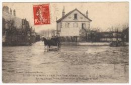 La Crue De La Marne à Châlons Sur Marne Janvier 1910 Madagascar  La Rue D´Alger - Châlons-sur-Marne