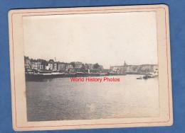 Photo ancienne - DIEPPE - Bateau � Vapeur au Port