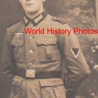 CPA Photo - Officier Allemand En France Durant La 2nde Guerre Mondiale - Voir Insigne , Uniforme , Ceinture - Guerra 1939-45