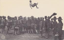 Up In The Blanket. - American Infanterie Troops. - Oorlog 1914-18