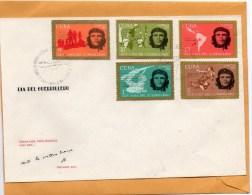 Cuba 1968 FDC - FDC