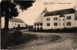 Luxembourg  1 CP  Opont Château Des Abys 1919 - Belgique