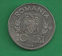 = ROMANIA  - 10 LEI - 1995  -  FAO - PROOF    # 40 = - Romania