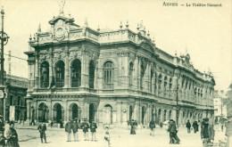Antwerpen - Anvers -  Le Theatre Flamand - Héliotypie De Graeve No 303 - Antwerpen
