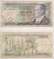 Türkei , 10.000 Lira , 1982 , P-199 , VG - Türkei