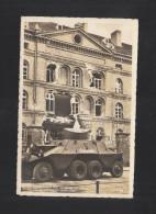 AK Panzerwagen Der SS Heimwehr Vor Der Zerschossenen Polnischen Post Polen Poland - Weltkrieg 1939-45