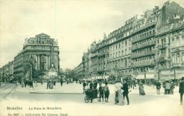 Bruxelles - Brussel - La Place De Brouckère - Héliotypie De Graeve No 3007 - België