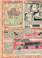Publicite ( Journal Mickey) Voiture Dinky Toys Colorié - Publicidad