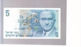 Israel- 5 Shekel - 1987 - Unc - Israel
