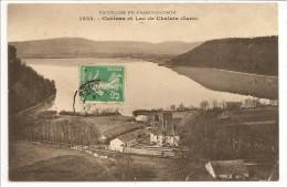 39 - Château Et Lac De Chalain (Jura) - éd. Gaillard-Prêtre N° 1032 - Other Municipalities