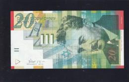 Israel- 20 Shekels - 2001- Unc - Israel