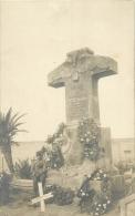 LIBYE CARTE PHOTO MONUMENT PIETRO MANZINI - Libya
