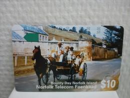 Phonecard Norfolk Island  Used - Norfolk Island