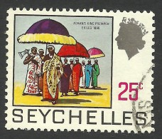 Seychelles, 25 C, 1969, Scott # 261, Used - Seychelles (...-1976)