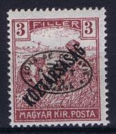 Hungary / Ungarn: Debrecen Debreczin , Mi.  44  MH/*  Signed/ Signé/signiert/ Approvato