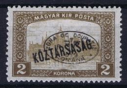 Hungary / Ungarn: Debrecen Debreczin , Mi.  52 A  MH/*  Signed/ Signé/signiert/ Approvato