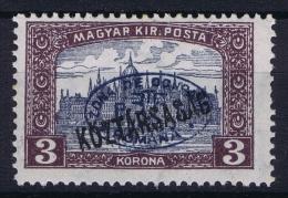 Hungary / Ungarn: Debrecen Debreczin , Mi.  53 C Blau   MH/* - Debrecen