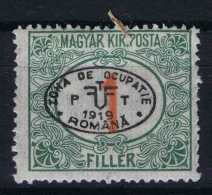 Hungary / Ungarn: Debrecen Debreczin , Mi. Porto  Nr 2 MH/* Signed/ Signé/signiert/ Approvato  (dust Is NOT On Stamp)