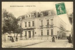 MANSLE L'Hôtel De Ville (Combaud NA)Charente (16) - Mansle